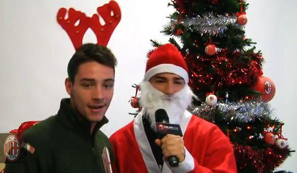 La Gazzeta dello Milan AC-Milan-sing-Wham-Last-Christmas