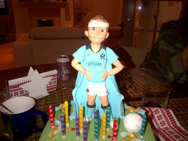 Fox Birthday Cake Steven
