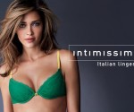 Ana Beatriz Barros wearing the Intimissimi World Cup Collection