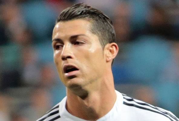 This is probably how Cristiano Ronaldo looked when he saw the Maja Darving photos before he allegedly started dating her