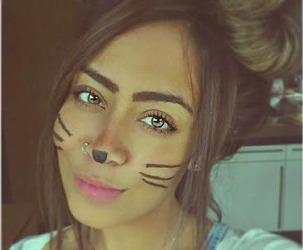 Just one of the photos of Neymar's sister Rafaella Beckran in this collection