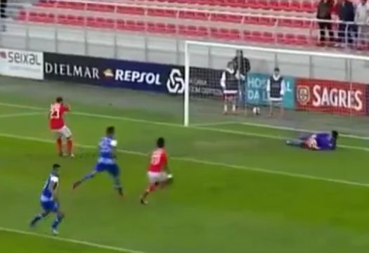 A very weak Adel Taarabt penalty for Benfica B was passed straight into the Porto B goalkeeper's arms