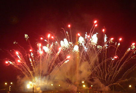 This is not the Mario Balotelli fireworks display