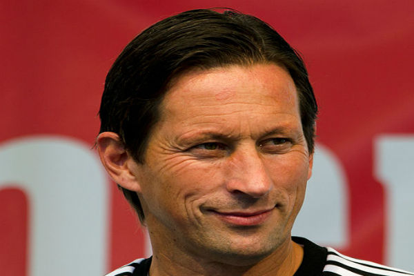Roger Schmidt's refusal to be sent off made the referee storm off the pitch