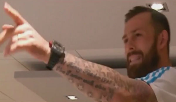 Steven Fletcher raps Fresh Prince of Bel-Air theme tune for new Marseille team mates at initiation ceremony dinner
