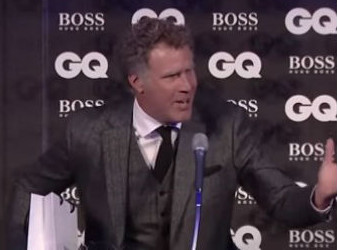 Will Ferrell gets José Mourinho sacked in GQ awards acceptance speech