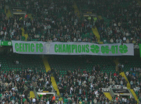 Is there a Celtic fan asleep amongst this lot?