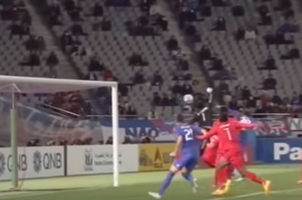 A Vietnamese goalkeeper heads in an own goal just moments after saving a penalty in the Asian Champions League