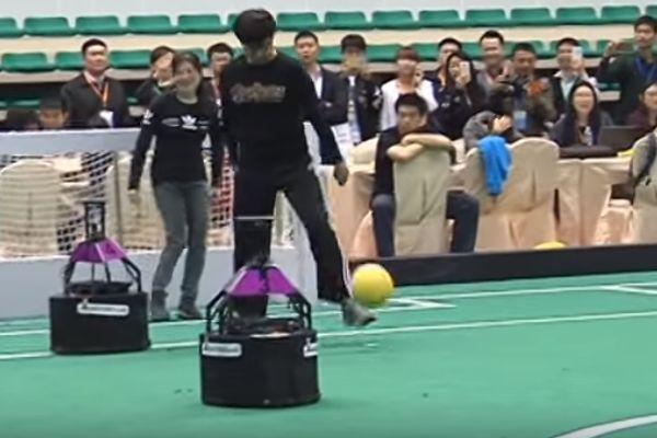 Team of robots beat humans 3-2 at RoboCup China Open 2016