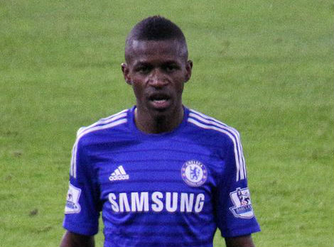 Ramires had to be held back from attacking a referee