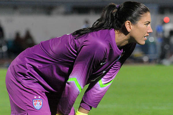 """Brazilian fans shouted """"Zika"""" at Hope Solo during United States Olympic clash with New Zealand"""