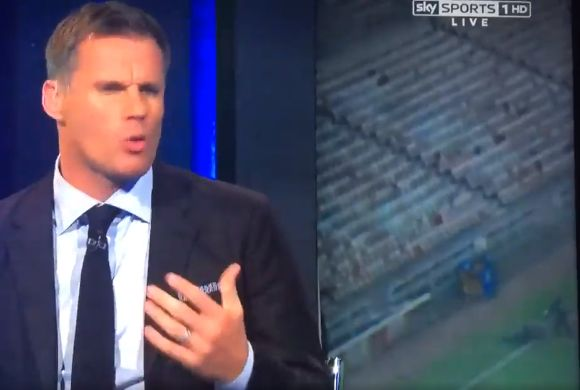 The Sunderland ghost seen on the Sky Sports coverage of their 0-3 defeat to Everton