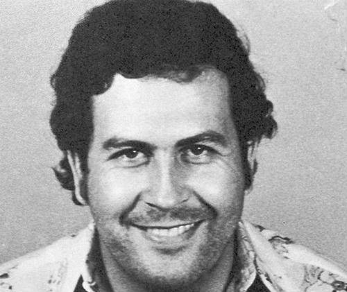 Pablo Escobar, whose hitman Popeye welcomed Ezequiel Rescaldani to Atlético Nacional