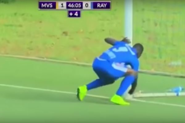 Player uses witchcraft before scoring in Rwandan clash