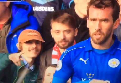 Middlesbrough supporter notices Fuchs has a rude name as Leicester visit