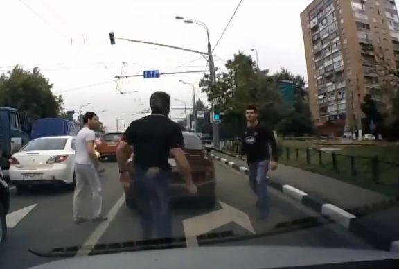 Wigan fan in Russian road rage incident