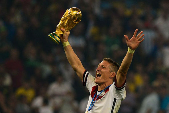 Bastian Schweinsteiger was asked if Chicago can win the World Cup