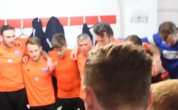 "Billericay Town sing R. Kelly's ""The World's Greatest"""