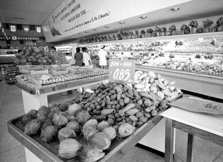 A supermarket in Brazil