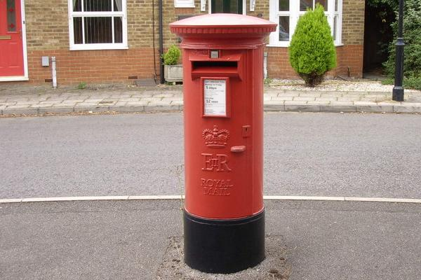 There was a fan dressed as a red post box at Sheffield United 1-2 Bristol City
