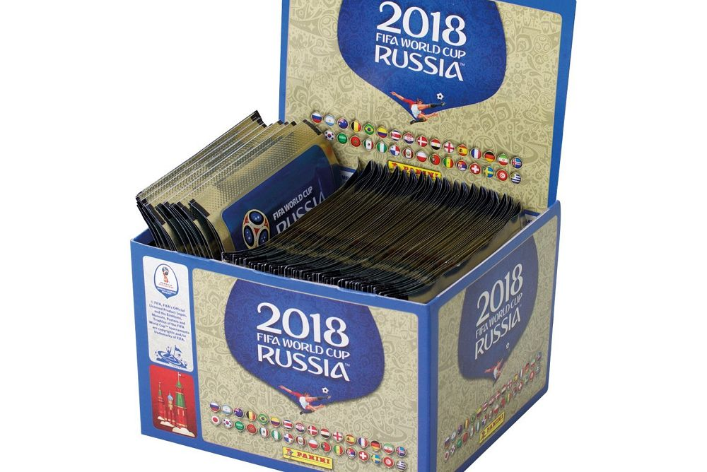 Win 100 Panini FIFA World Cup 2018 Sticker Collection packs
