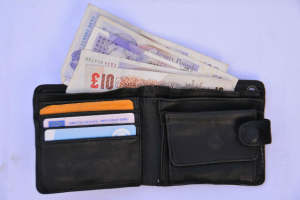 This is not Mark Little's wallet