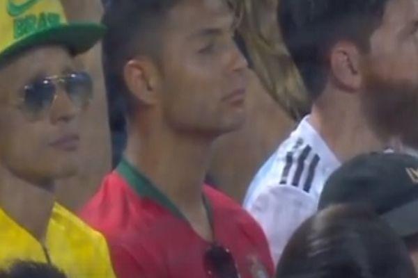 VIDEO: Neymar, Ronaldo & Messi lookalikes watch baseball ...