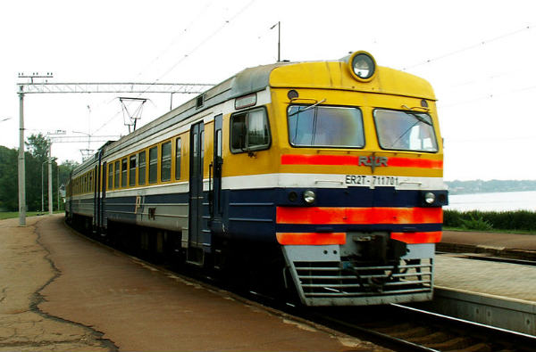 This isn't the train that sounded in support of Latvia against Azerbaijan
