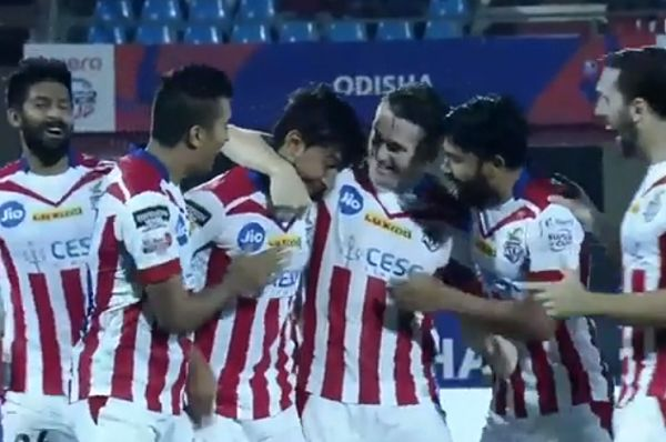 Robbie Keane among players celebrating ATK goal that made commentator swear