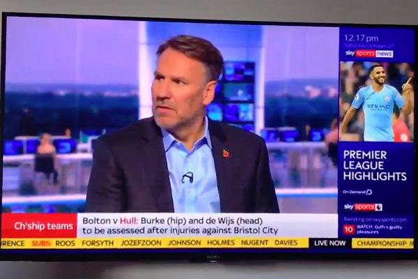 """Paul Merson bluntly assesses Spurs after being asked """"is this possibly the height of their success?"""""""