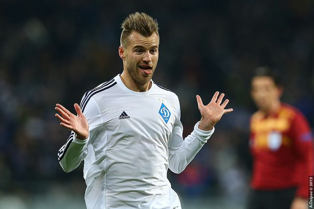 Andriy Yarmolenko has a funny name according to some children