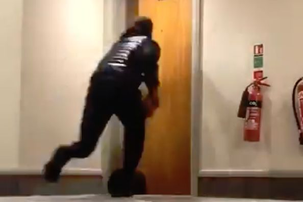 Leicester players lock Demarai Gray out of his hotel room with a prank