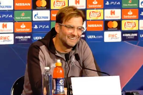 """Jürgen Klopp says his translator has a """"very erotic voice"""" in a press conference"""