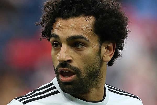 A curious Mo Salah statue was unveiled at the World Youth Forum 2018 in Egypt
