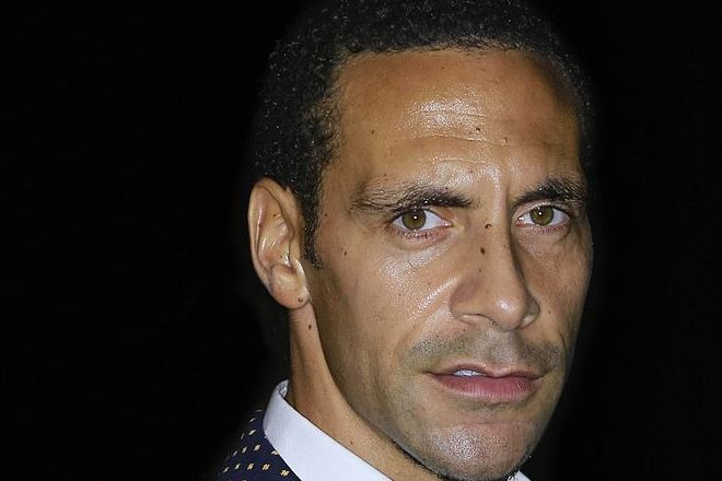 Rio Ferdinand took a picture of himself holding his middle finger up after being asked for a photo with a young Liverpool fan