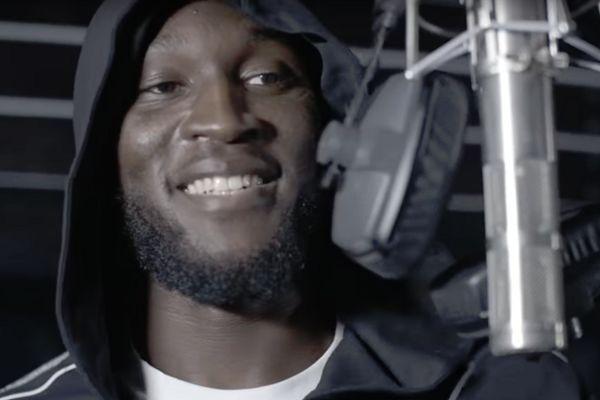 Romelu Lukaku raps on TheColorGrey track
