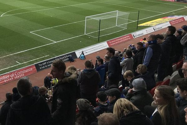 Goal music was played after Rotherham missed a penalty against West Brom at the New York Stadium