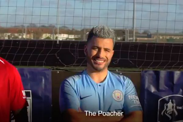 Sergio Agüero lookalike in a team of lookalikes to play in the FA People's Cup
