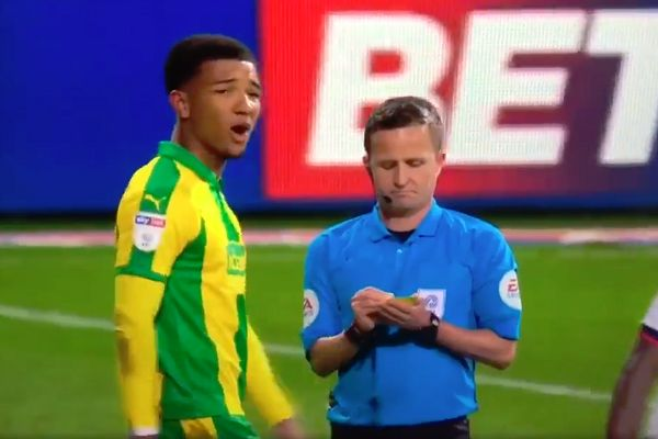 "Norwich's Mason Holgate calls Clayton Donaldson ""crap"" at Bolton during match"