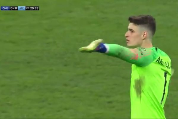Chelsea goalkeeper Kepa Arrizabalaga refuses to be substituted in the Carabao Cup final against Man City, angering manager Maurizio Sarri