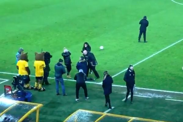 Marriage proposal at half-time of Wolves vs Shrewsbury FA Cup fourth round replay