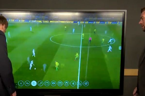 LUTV presenters swear as they struggle with video replay after Leeds 4-0 West Brom