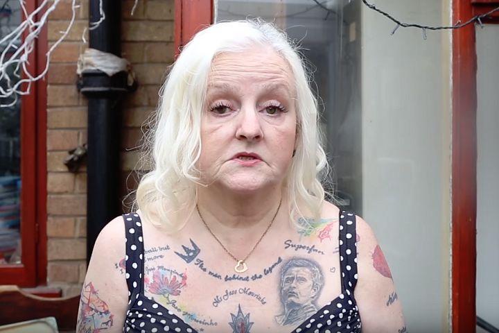 Woman with 37 José Mourinho tattoos