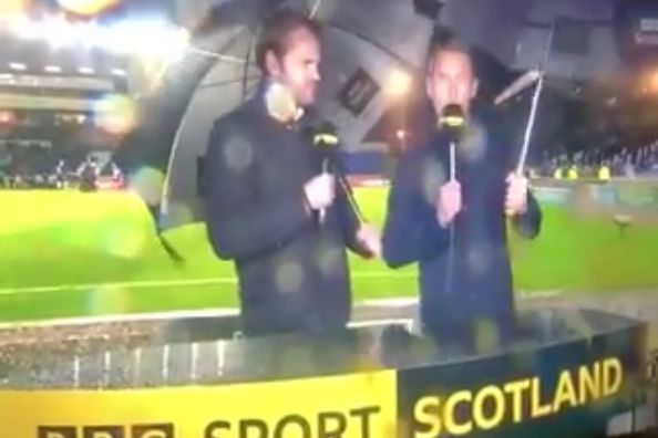 BBC Sport Scotland end their coverage of Ross County vs Dundee United in the middle of asking a question