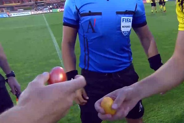 Easter egg battle replaces traditional coin toss for Botev Plovdiv vs CSKA Sofia in Bulgarian top flight