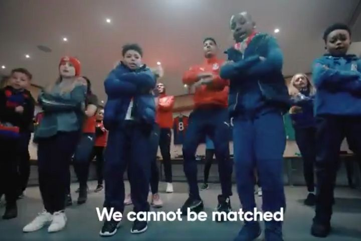 Crystal Palace's song for Super Movers