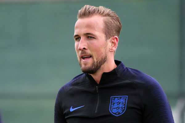 England's Harry Kane, subject of a botched mural at a pub near Wembley
