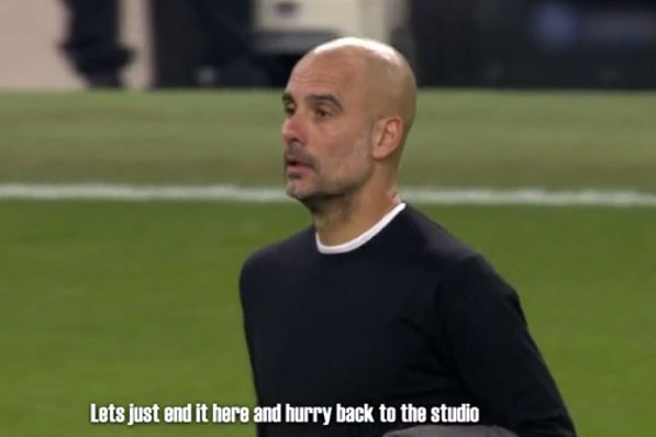 A Danish commentator swore repeatedly without realising he was still on air following Man City v Spurs in the Champions League