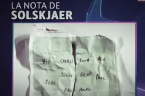The Ole Gunnar Solskjær tactics note that Marcus Rashford left for Marc-André ter Stegen to grab during Barcelona v Man Utd