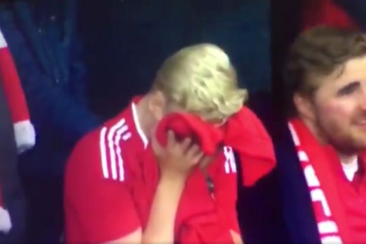 Crying Liverpool fan went on to swear at Suárez after 4-0 win over Barcelona in Champions League semi-final second leg